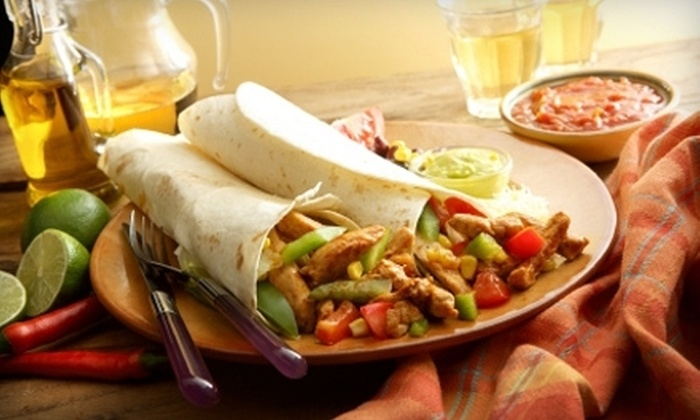 Mextopia - Lower Greenville: Mexican Food at Mextopia (Half Off). Two Options Available.