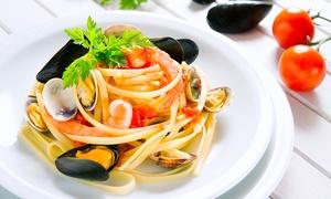 Fuori Le Mura (Potenza): Menu di pesce di 3 portate con vino per 2 o 4 persone da Fuori Le Mura (sconto fino a 63%)