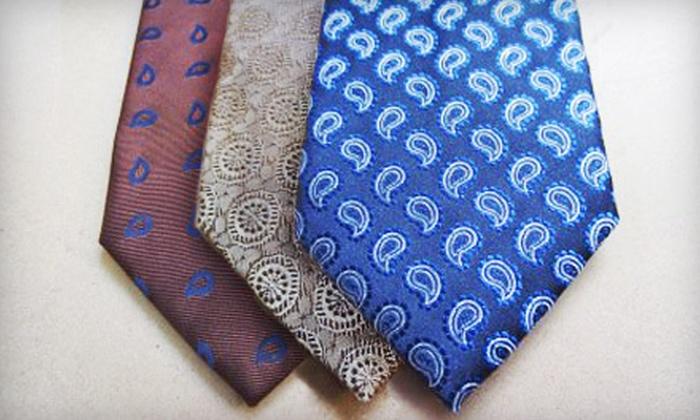 Eskandari: $49 for $100 Worth of Handmade Men's Italian Neckwear from Eskandari