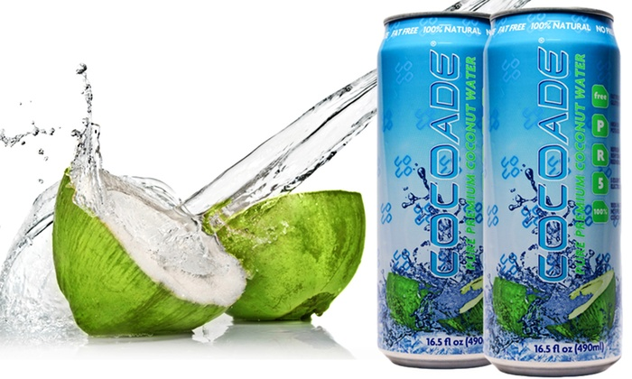 12-Pack of Cocoade Coconut Water: 12-Pack of Cocoade Pure Premium Coconut Water. Free Shipping.