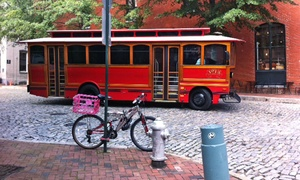 RVA Historic Tours: Historic City Trolley Tour for One, Two, or Four from RVA Historic Tours (Up to 23% Off)