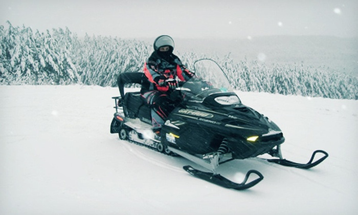 Cottage Country Tours - Orillia: $99 for a Two-Hour Snowmobile Tour for Two from Cottage Country Tours ($220 Value)