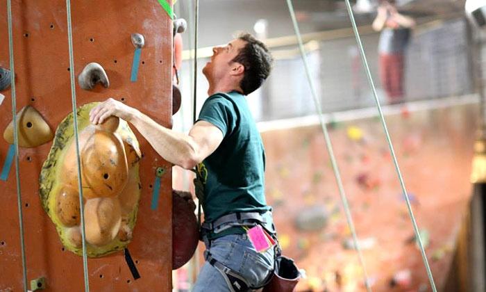 Rocknasium - Rocknasium: Three-Month Summer Family Membership, or Climbing Day Pass with Belay Class at Rocknasium (Half Off)