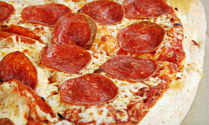 Brick Oven Pizza - Ashland: Pizza Meal for Two with Salads and Drinks or $9 for $18 Worth of Italian Food at Brick Oven Pizza