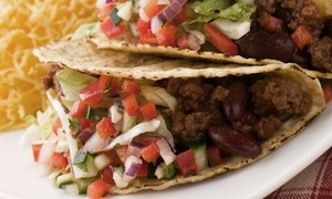 California Grille: Mexican and Western Food at California Grille (Half Off). Two Options Available.