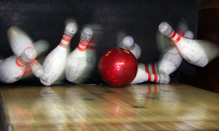 Olivette Lanes - Olivette: Two Games of Bowling with Shoe Rentals for Two, Four, or Six at Olivette Lanes (Up to 61% Off)