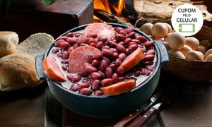 Restaurante Old West Park: Feijoada ou buffet com churrasco para 1 ou 2 pessoas no Restaurante Old West Park – estrada de Campos do Jordão