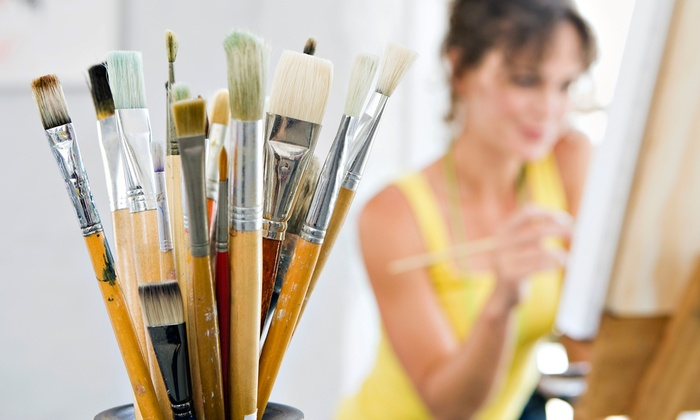 Color Splash - Brooklyn Park - Maple Grove: Two-Hour BYOB Acrylic Canvas-Painting Class for One, Two, or Four at Color Splash (Up to 51% Off)
