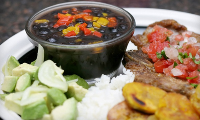 La Cocina Puertorriquena - Welwyn Park: Puerto Rican Dinner for Two, Four, or Six with Appetizers and Entrees at La Cocina Puertorriquena (Up to 55% Off)