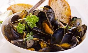 Il Glicine (Brugherio): Menu di pesce di 3 o 4 portate con bottiglia di vino da (sconto fino a 62%)