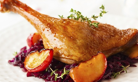 Three-Course Dinner for Two or Four or Lunch for Two at La Régalade French Bistro (Up to 48% Off)