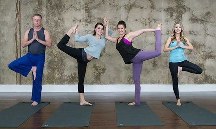 10 or 20 Yoga Classes or One Month of Classes at City Yoga (Up to 76% Off)