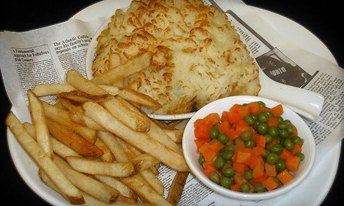 Queen Victoria Pub - The Strip: British Pub Food at Queen Victoria Pub (Up to 53% Off). Three Options Available.