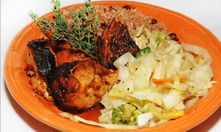 Caribbean and International Food at Chef Rob's Caribbean Cafe (Up to 47% Off). Two Options Available.