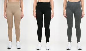 RAG Women's Soft and Comfortable Terry Leggings