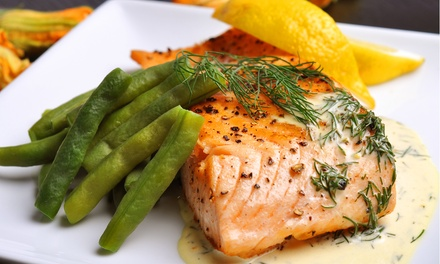 Four-Course European Dinner for Two or Four at Gemmell's Restaurant (Up to 48% Off)
