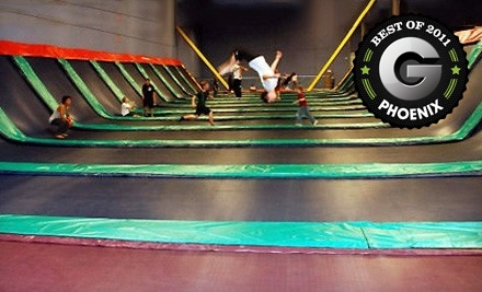2 Hours of Jumping and a Fun Pass for 1 - JumpStreet  in Chandler