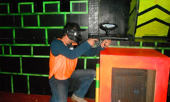 Tag Zone - Lindenlea - New Edinburgh: Paintless Indoor Paintball with Equipment and Ammo for Two or Four at Tag Zone (Up to 52% Off)