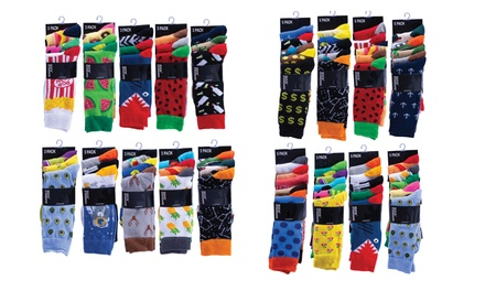 for up to 20 Pairs of Unisex Novelty Socks in Assorted Designs