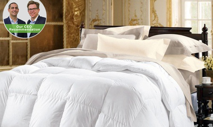 Cielo Lifestyle: 10.5 Tog Goose Feather Down Duvet from R1 350 Including Delivery (33% Off)