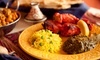 Marrakech Restaurant - Marrakech Gourmet: Moroccan Cuisine for Dine-In or Takeout at Marrakech Restaurant (Up to 49% Off). Four Options Available.