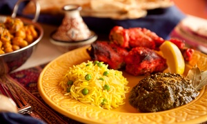Marrakech Restaurant: Moroccan Cuisine for Dine-In or Takeout at Marrakech Restaurant (Up to 49% Off). Four Options Available.