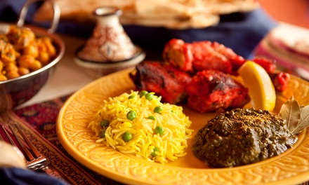 Moroccan Cuisine for Dine-In or Takeout at Marrakech Restaurant (Up to 49% Off). Four Options Available.