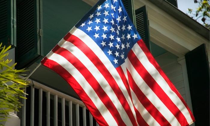 U.S. Flag Kit: $24 for a U.S. Flag Kit ($49.99 Value)