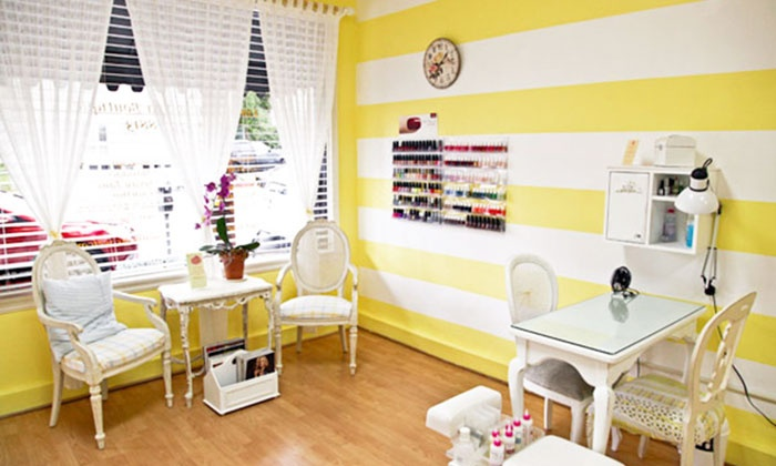 Limon Nail & Spa Boutique - West Hollywood: One or Two Salty Lemon Intense Therapy Mani-Pedis at Limon Nail & Spa Boutique (48% Off)