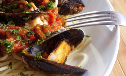 Italian Dinner for Two at Trattoria Da Franco (Up to 58% Off). Two Options Available.