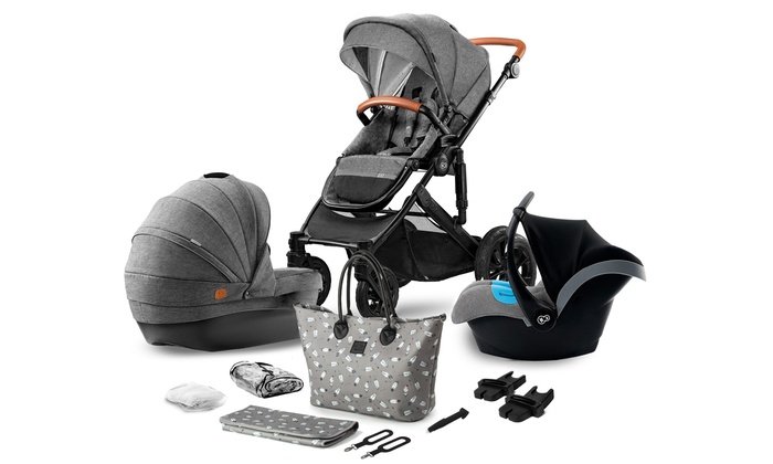 Kinderkraft Stroller Three-in-One Set With Free Delivery