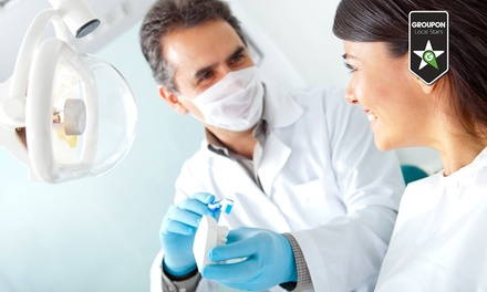 Sbiancamento denti e otturazione