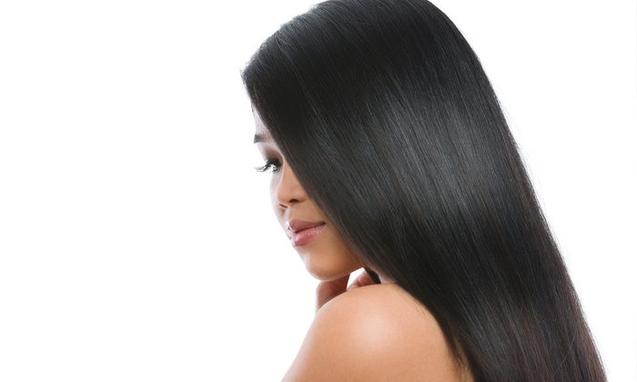 Platinum Salon - Platinum Salon: Haircut and Brazilian Blowout from Platinum Salon with Andrea Defonseka (55% Off)