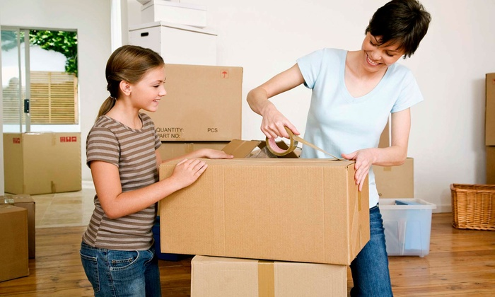 Expert Movers DFW - Fort Worth: Two or Three Hours of Moving Services with Two Movers and Supplies from Expert Movers DFW (Up to 55% Off)