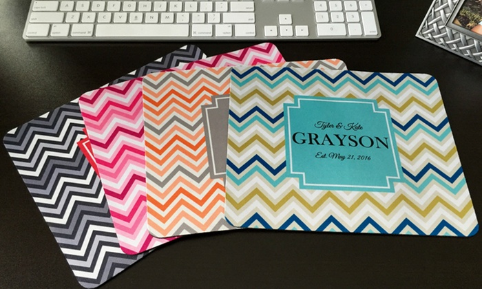 up to 79 off on personalized mouse pads groupon goods
