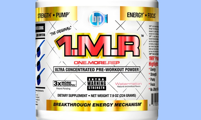 BPI 1MR Preworkout Supplement: BPI 1MR Version 2 Preworkout Supplement. Multiple Flavors Available. Free Shipping.