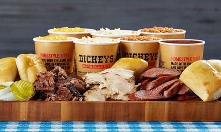 $9 for $16 Worth of Barbecue Cuisine, Sides, and Drinks at Dickey's Barbecue Pit