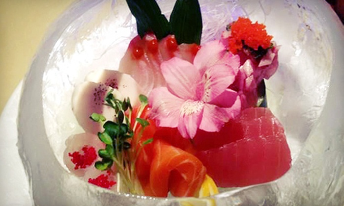 Ajisai Japanese Steakhouse & Sushi - Mill Run: $15 for $30 Worth of Japanese Cuisine at Dinner at Ajisai Japanese Steakhouse & Sushi