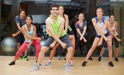 Up to 75% Off Zumba or GroupFit Classes