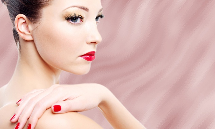 Gallery-The Spa - New Westminster: Shellac Manicure with Optional Shellac Pedicure at Gallery-The Spa (Up to 52% Off)