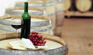 Grape Escape Winery: Wine Tasting for Two or Four with Take-Home Wineglasses and Bottle of Wine at Grape Escape Winery (Up to 50% Off)
