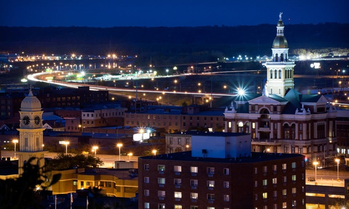Hotel Julien - Dubuque, IA: One-Night Stay with Dining Credit and Optional Wine Tastings and Spa Credit at Hotel Julien in Dubuque, IA