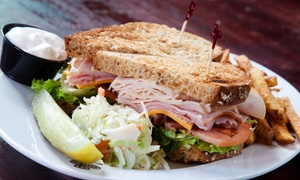 Blend Bistro: Gourmet Sandwiches and Fresh Juices for Two or Four or More During Happy Hour at Blend Bistro (48% Off)