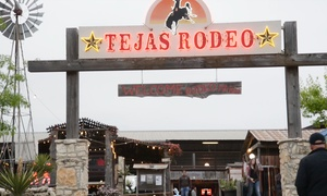 Tejas Rodeo Company: Steakhouse Dinner Cuisine for Two or Four at Tejas Rodeo Company (Up to 48% Off)