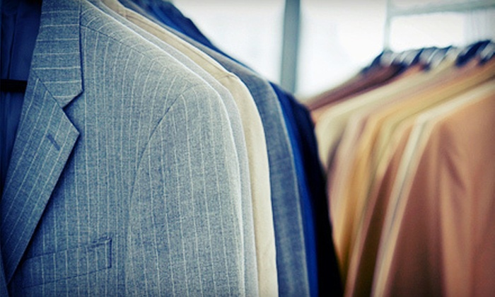 M. Kenny's Fashions - Newport Beach: Two Custom-Made Shirts or One Custom-Made Suit with a Custom Shirt at M. Kenny's Fashions (Up to 56% Off)