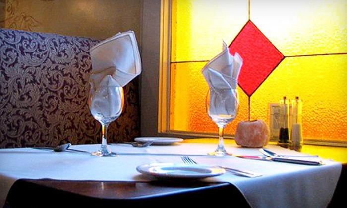 Rocco's Ristorante Italiano  - Multiple Locations: Dinner for Two or $25 for $50 Worth of Italian Cuisine at Rocco's Ristorante Italiano. Two Locations Available.