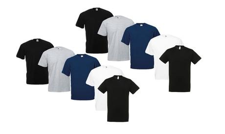 Pack de 10 camisetas de algodón