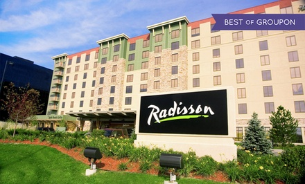Stay with Optional Water-Park Passes at Radisson Bloomington by Mall of America in Bloomington, MN. Dates into March.