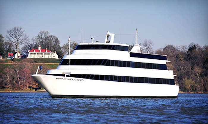 Spirit of Mount Vernon - Spirit of Mount Vernon: $27 for Scenic Potomac Cruise to and from Mount Vernon on Spirit of Mount Vernon ($44.95 Value)