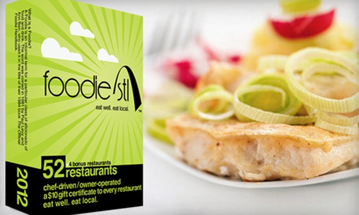Foodie STL: $20 for a Deck of 53 Gift Cards to Local Restaurants from Foodie STL ($43 Value)